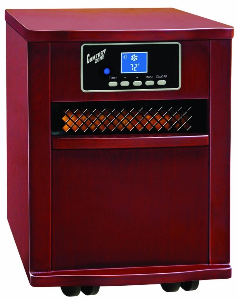Comfort Zone Infrared Quartz Heater Reviews