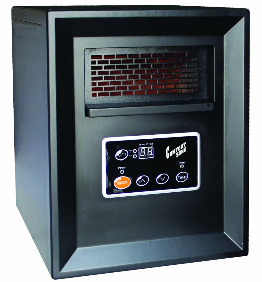 Comfort Zone Infrared Quartz Heater - 3413 BTU,