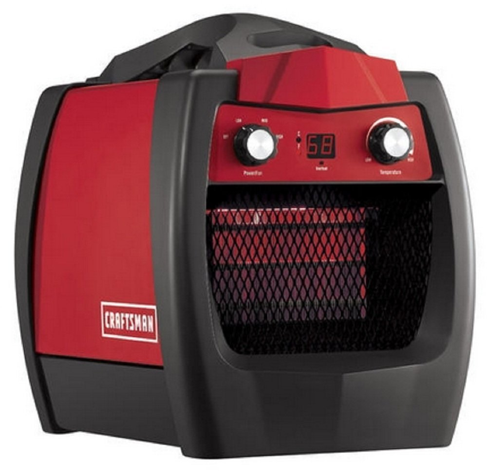 The craftsmen is the perfect infrared garage heater for Infrared garage heaters