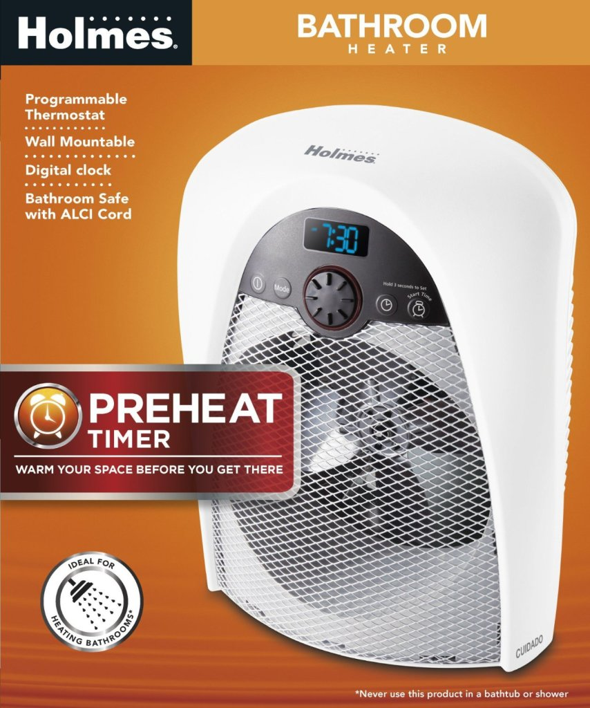 Best Bathroom Heater Holmes Heater With Programmable