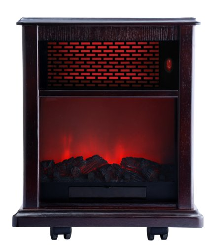 Infrared Fireplace Heater Instant Heat With American Comfort Quality